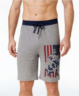 Briefly Stated Men's Super Hero Cotton Pajama Shorts $28 thestylecure.com