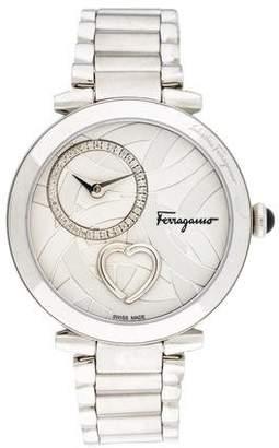 Salvatore Ferragamo Cuore Beating Heart Watch