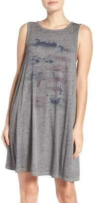 Retrospective Co. Burnout Jersey Nightgown