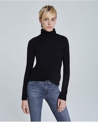 AG Jeans The Chels Turtleneck - True Black