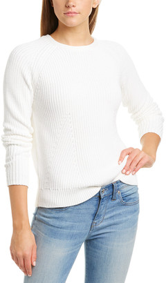 Forte Cashmere Forte Fashion Cable Knit Sweater