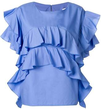 Milla ruffled blouse