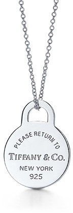 Return to Tiffany™ Round tag pendant