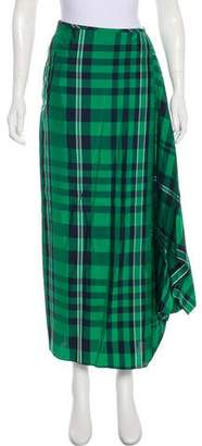 Stella McCartney 2016 Plaid Skirt
