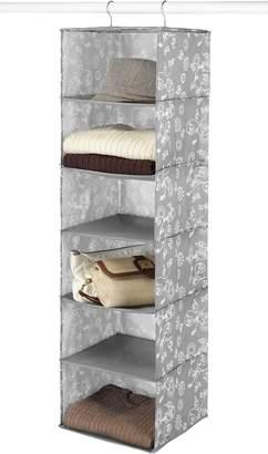 Whitmor 6149-94-W Six Shelf Hanging Accessory Bag