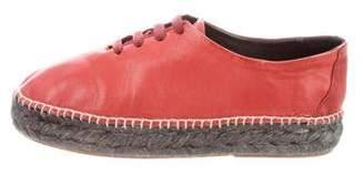 Zero Maria Cornejo Round-Toe Espadrille Sneakers