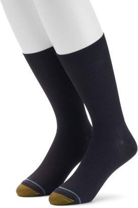 Gold Toe Goldtoe Men's GOLDTOE Non-Binding Microfiber Dress Socks