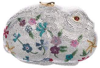 Judith Leiber Crystal-Embellished Rabbit Minaudière