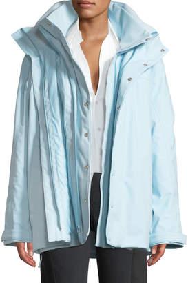 Vetements Angela Double-Layer Coat
