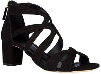 Sandro Suede Multi-Strap Sandals