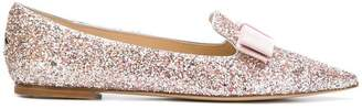 Jimmy Choo Gala glitter pumps