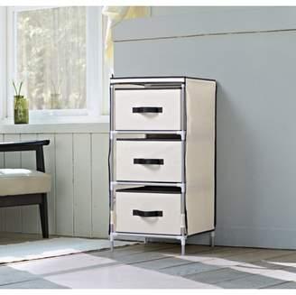 Homestar 3-Drawer Fabric Dresser, Multiple Colors