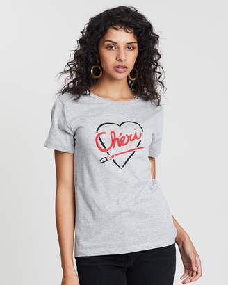 Warehouse Cherie Printed T-Shirt