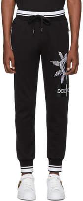 Dolce & Gabbana Black Heart Lounge Pants