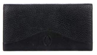 Mark Cross Grained Leather Wallet