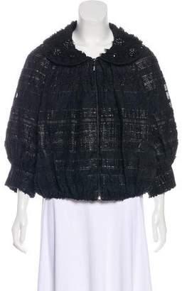 Couture St. John Embellished Textured Jacket