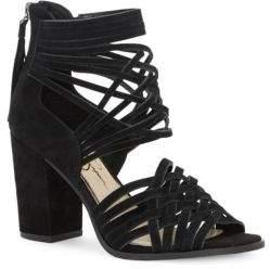 Jessica Simpson Reilynn Tassel Suede Sandals