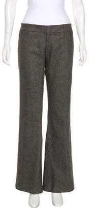 Gucci Tweed Wide-Leg Pants Brown Tweed Wide-Leg Pants