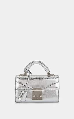Stalvey Women's Top-Handle 2.0 Mini Lizard Satchel - Silver