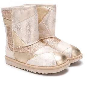 UGG (アグ) - Ugg Australia Kids panelled boots