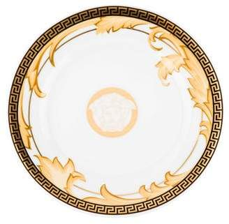 Versace Rosenthal Meets Pair of Arabesque Champagne Canape Plates