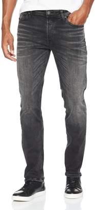 Jack and Jones Men's Tim 709 Slim Fit Jeans