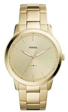 Fossil The Minimalist Three-Hand Stainless Steel Bracelet Watch