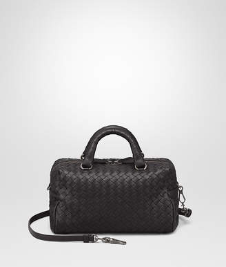 Bottega Veneta NERO INTRECCIATO NAPPA TOP HANDLE BAG