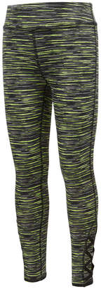 Ideology Space-Dyed Caged-Hem Leggings, Toddler Girls, Created for Macy's