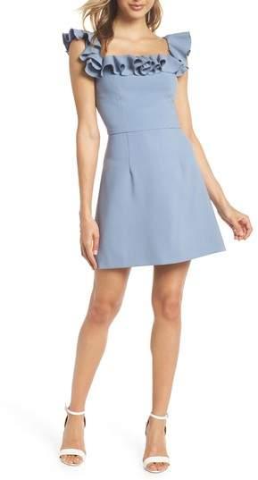 Whisper Light Off the Shoulder Ruffle Dress