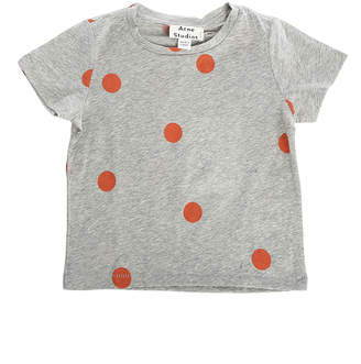 Acne Studios Mini Grey Dot Tee