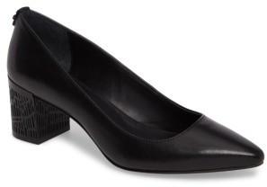 Women's Calvin Klein Natalynn 2 Texture Heel Pump