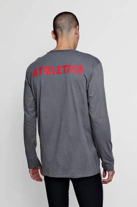 boohoo Oversized T-Shirt With Athletics Back Print
