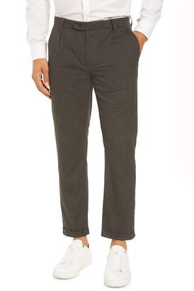 Ted Baker Champi Pleated Cropped Pants