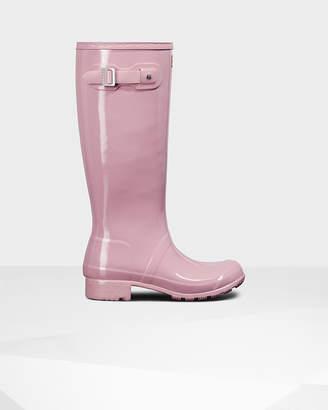 Hunter Women's Original Tour Gloss Wellington Boots