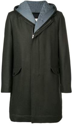 Stephan Schneider zip-front hooded coat