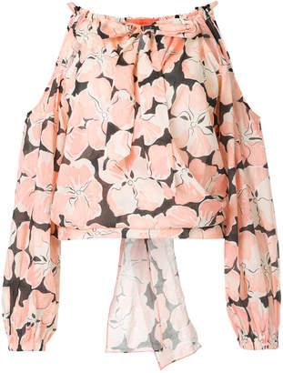 Manning Cartell Aloha cold shoulder blouse