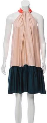 Roksanda Silk Colorblock Dress w/ Tags