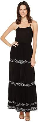 Brigitte Bailey Blaine Maxi Dress with Embroidery Women's Dress