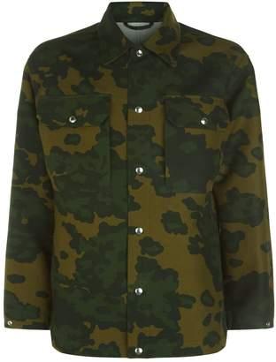Dunhill Camouflage Shirt Jacket