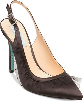 Betsey Johnson Blue By Mia Slingback Pumps Women's Shoes
