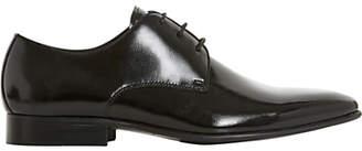 Dune Podolski Gibson Shoes, Patent Black