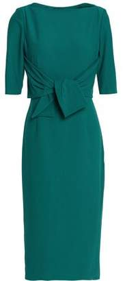 Raoul Tie-Front Crepe Dress