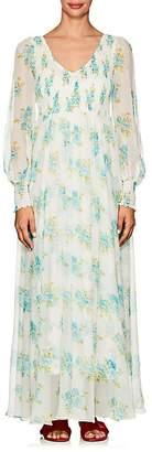 Zimmermann Women's Whitewave Floral Silk Maxi Dress