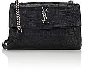 Saint Laurent Women s Monogram West Hollywood Shoulder Bag - Black 09c085b6fd