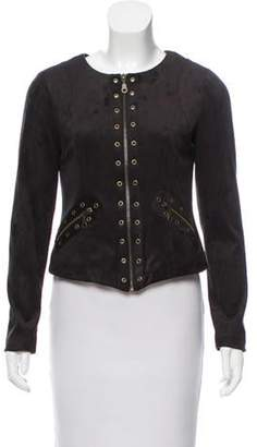 DREW Tailored Faux Suede Jacket w/ Tags Black Tailored Faux Suede Jacket w/ Tags