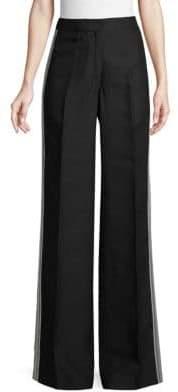 Derek Lam Tuxedo Lace Trousers