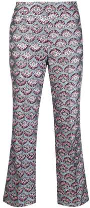 Blugirl jacquard trousers