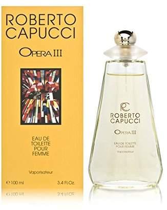 Roberto Capucci Opera Iii for Women Eau De Toilette Spray, 3.4 Ounce