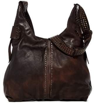 Frye Samantha Studded Leather Hobo Bag